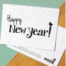 Happy New year ! - bloeikaarten (wilde bloemen)