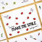 Make me smile - bloeikaarten (tomaatjes)