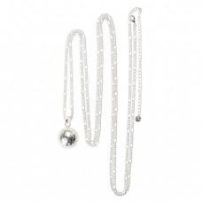 Zilverkleurige halsketting voor Bola