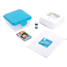 Cheeky wipes mini set - Mini set wasbare billendoekjes organic white cotton