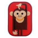 Strijkapplicatie : Billy de aap