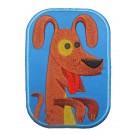 Strijkapplicatie : gekke hond