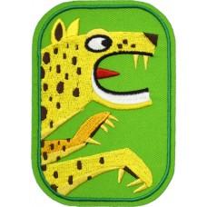 Strijkapplicatie : Leonel het luipaard