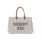 Mommy- XL luier-/weekendtas canvas leopard