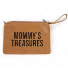 Opbergtasje met riem: mommy's treasures leatherlook
