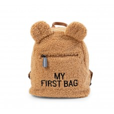 Bruine teddy kinderrugzak - My first bag