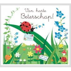 Wenskaart - Van harte beterschap !