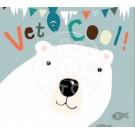 Wenskaart ijsbeer- vet cool