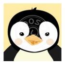 Wenskaart pinguïn