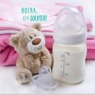 3D wenskaart - Geboorte - Dochter
