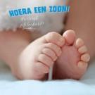 3D wenskaart - Geboorte - Zoon
