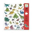 160 stickers - dinosaurussen
