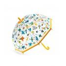 Doorzichtige paraplu met print - Ruimte