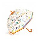 Doorzichtige paraplu met print - Faces magic