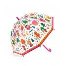 Doorzichtige paraplu met print - In het bos
