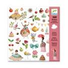 160 stickers - prinsessen theekransje