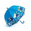 Paraplu met print - Zeedieren