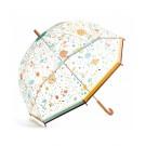 Doorzichtige paraplu met print - Bloemen