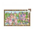 54-delige puzzel - Prinsessen