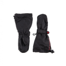 Zwarte warme wanten - mittens black
