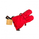 Rode warme wanten - mittens red