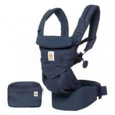 Blauwe ergonomische draagzak Omni 4P  - midnight blue