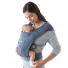 Ergonomische draagzak embrace grijsblauwe - Embrace oxford blue