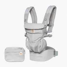 Ergonomische draagzak omni 360 - Pearl grey