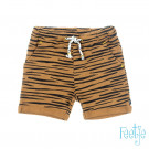 Camelkleurig gesteept shortje - Born to be wild short camel