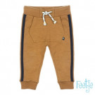 Camelkleurig babybroekje - Born to be wild pants camel