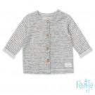 Zacht gestreepte cardigan - Vest little things  (stapelkorting)