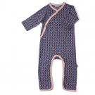 Kruippakje jaquard met motief - dolls  jumpsuit without feet  - maat 56 (Geboortelijst Pippa P.)