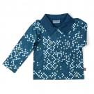 Polo hemdje met vlakjes- polo shirt cubes