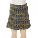 Rokje jaquard met mosterdgele accenten - skirt enia corner