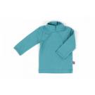 Kraagshirt grijsblauwl- shirt coll greyblue
