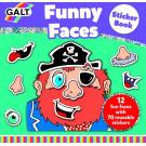 Funny faces sticker boek