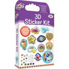 Creapakket - 3D sticker kit