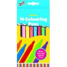 Set van 16 kleurstiften
