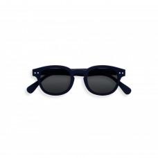 Junior zonnebril - Sun junior navy blue - Grey lenses - 5/10y - #C