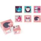 Mijn eerste blokkenpuzzel vrolijke babydiertjes (Geboortelijst Seppe V.H.)