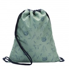 Rug- zwem- of turnzak woodland - Gym bag woodland
