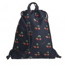 Rug- zwem of turnzak met kriekjes - City bag love cherries