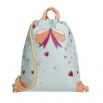 Turnzak met lieveheersbeestjes - City bag ladybug [backtoschool]