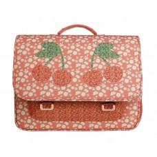 Boekentas met krieken en madeliefjes - It bag midi Miss Daisy [backtoschool]
