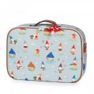 Koffer met dwergen en paddenstoelen- jeune premier mini suitcase gnomes