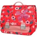Boekentas met bloemetjes en vlinder maxi - It bag maxi flowerbee