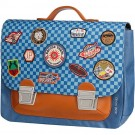Boekentas met raceprint midi - It bag racing