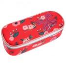 Pennendoos met bloemetjes en vlinder - pencil box flowerbee