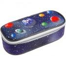 Pennendoos met sterrenhemel en planeten- pencil box space