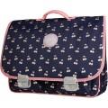 Boekentas met kersjes- schoolbag Paris large cherry